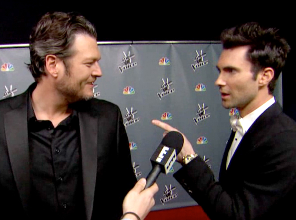 Blake Shelton, Adam Levine, The Voice Finale