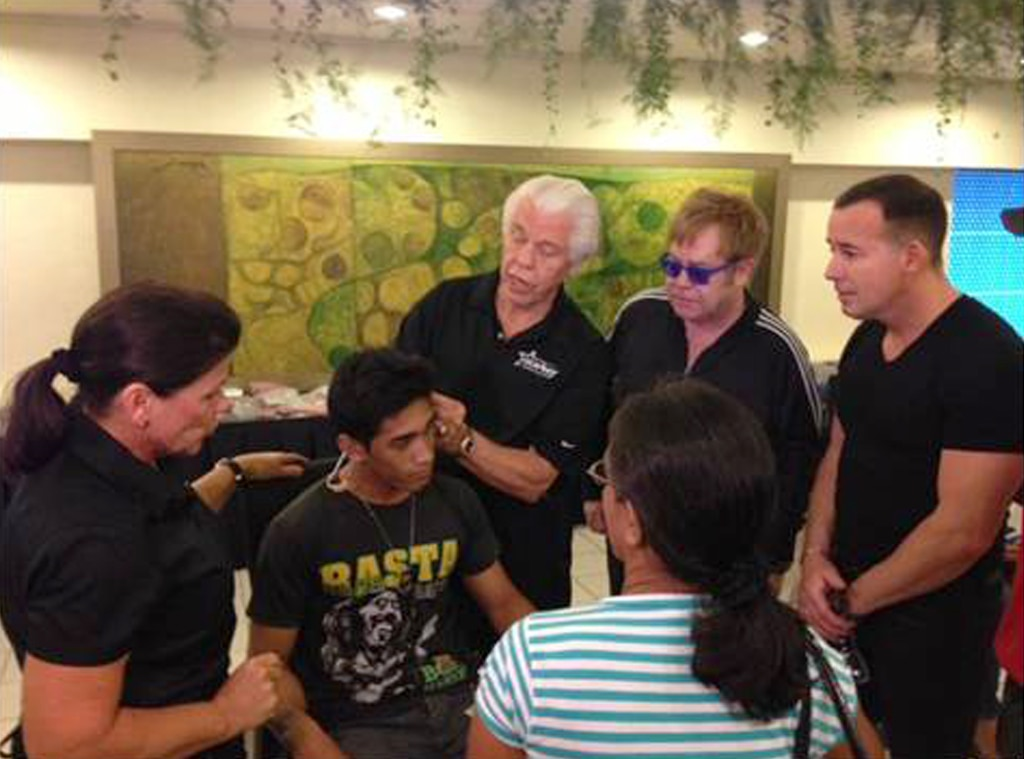 Elton John, Starkey Hearing Foundation