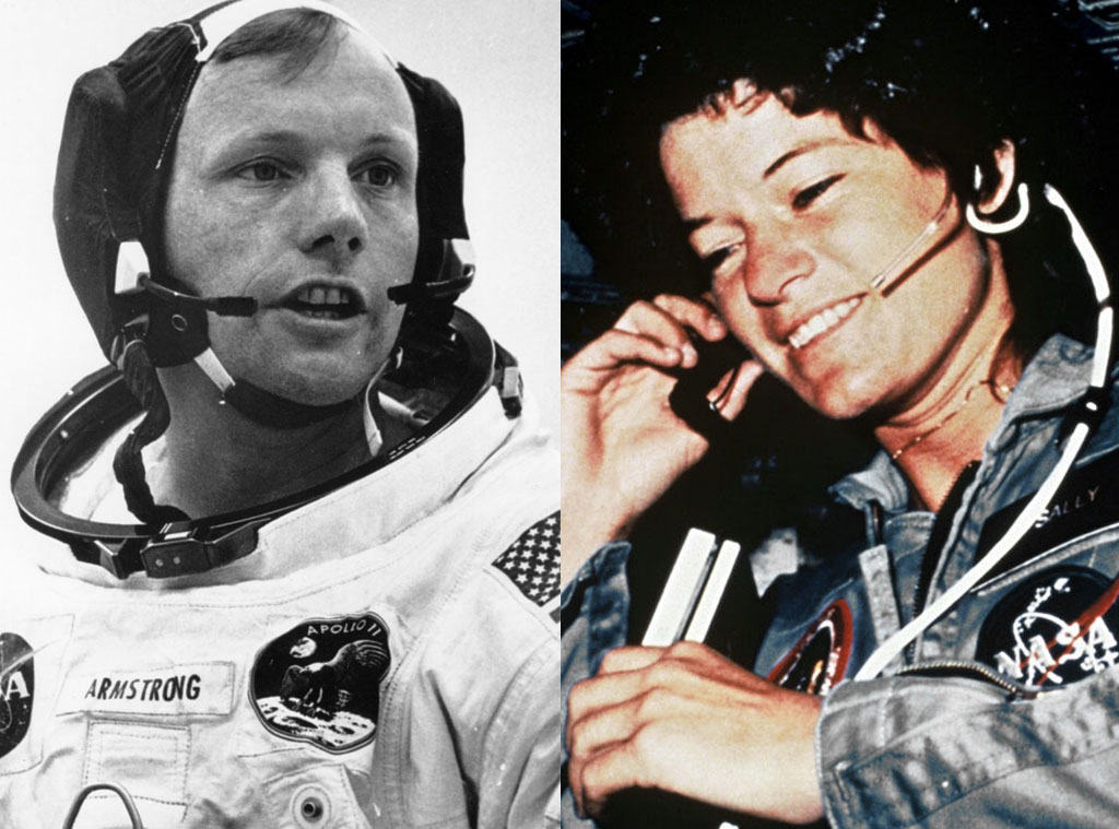 Neil Armstrong, Sally Ride