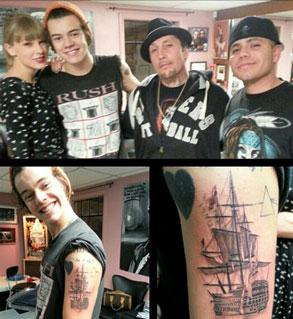 Taylor Swift, Harry Styles, Twit Pic