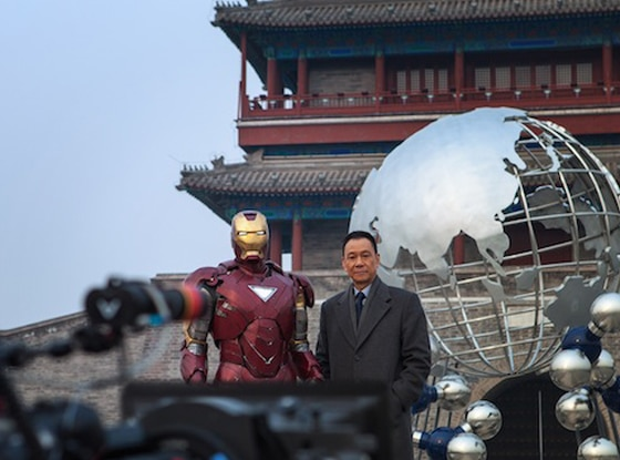 Iron Man 3 leaked photo