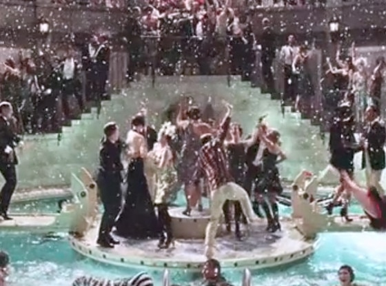 New great gatsby trailer 5 things to know e news for Jay gatsby fear of swimming pools