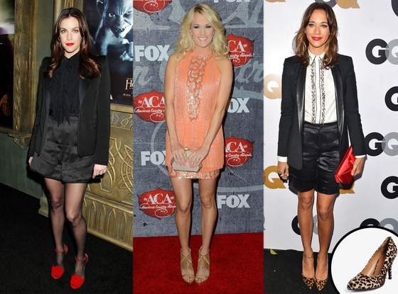 Liv Tyler, Carrie Underwood, Rashida Jones