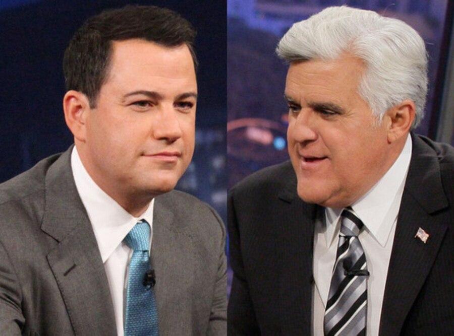 Jay Leno, Jimmy Kimmel