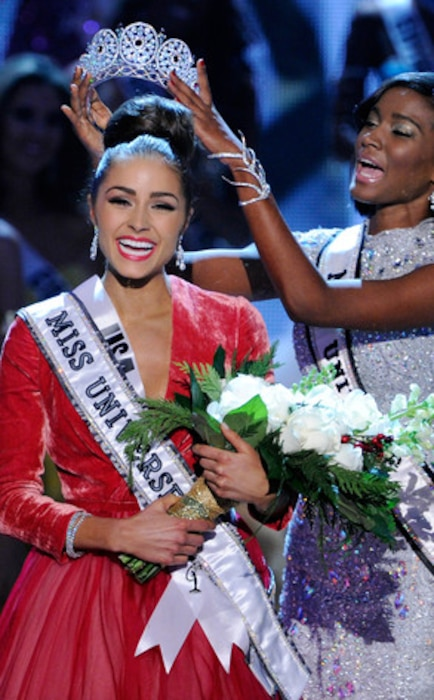 Miss USA 2012 Olivia Culpo, Crowned Miss Universe 2012