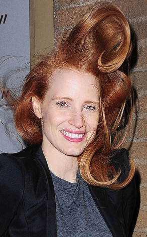 Jessica Chastain's Hair-Raising Photo: Check It Out! | E! News