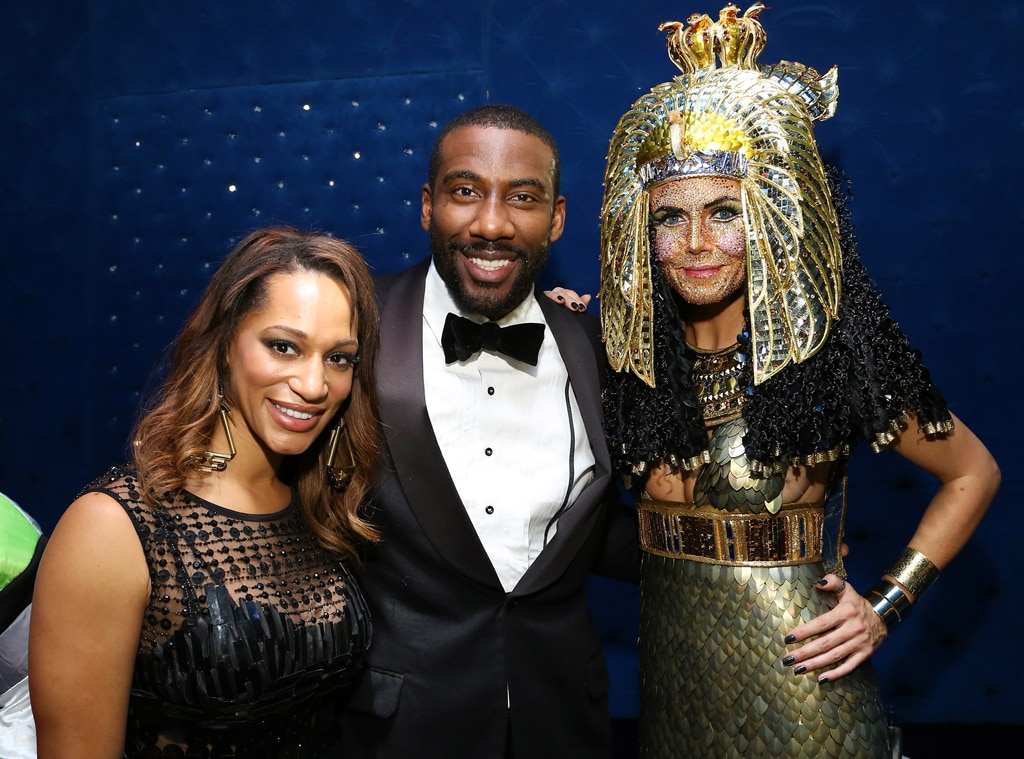 Alexis Welch, Amare Stoudemire, Heidi Klum, Heidi Klum's Haunted Holiday Party