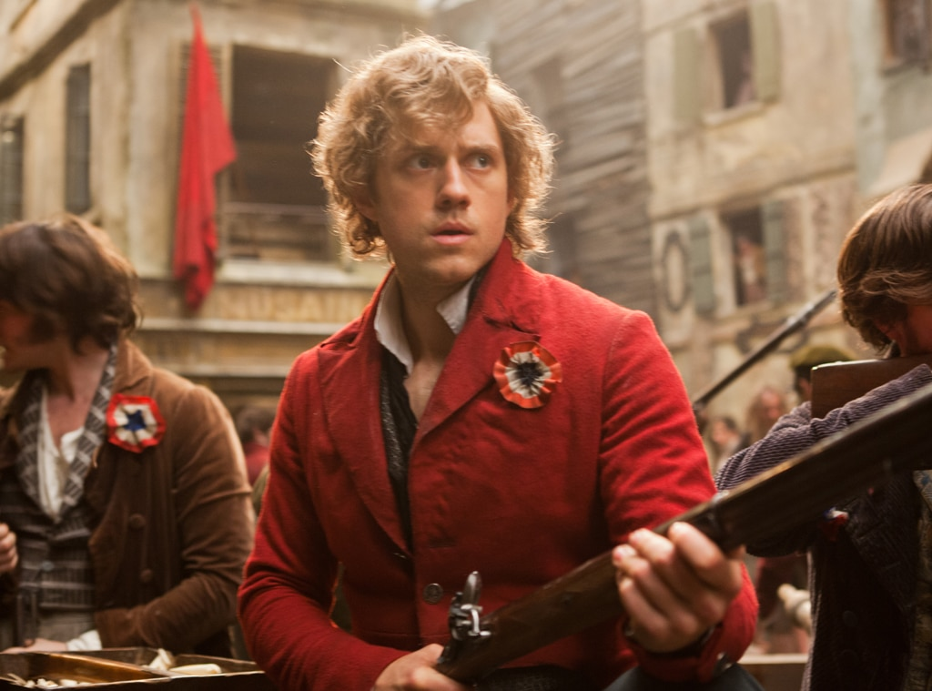 Aaron Tveit, Les Miserables