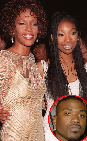 Whitney Houston, Brandy Norwood, Ray J