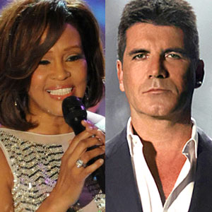 Whitney Houston, Simon Cowell