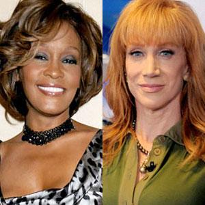 Kathy Griffin, Whitney Houston