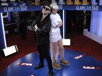 Robyn, Skrillex, Glam Cam, 2012 Grammy
