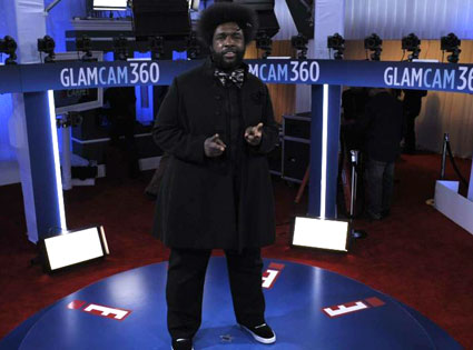 Questlove, Glam Cam, 2012 Grammy