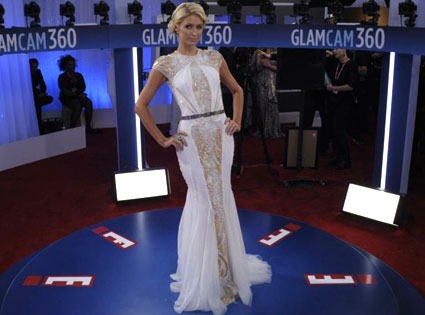 Paris Hilton, Glam Cam, 2012 Grammy