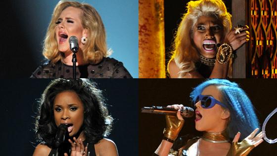 Best and Worst, Adele, Nicki Minaj, Jennifer Hudson, Katy Perry