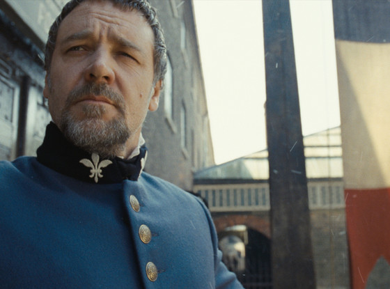 Russell Crowe, Les Miserables