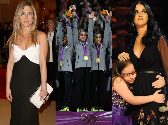 Jennifer Aniston, Fierce Five, Katy Perry