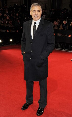 BAFTA Arrivals, George Clooney