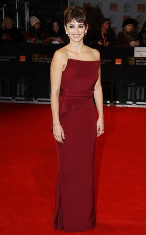 BAFTA Arrivals, Penelope Cruz