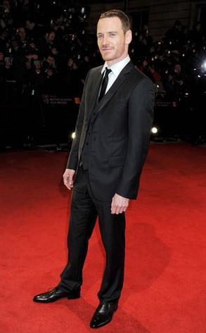 BAFTA Arrivals, Michael Fassbender