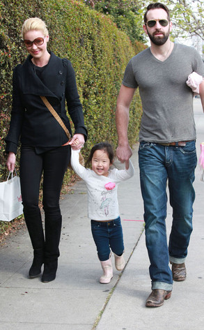 Katherine Heigl, Josh Kelley, Naleigh