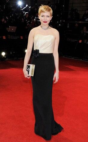 BAFTA Arrivals, Michelle Williams