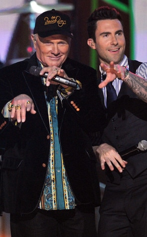 Mike Love, Adam Levine