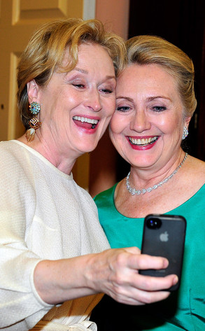 Meryl Streep, Hillary Clinton