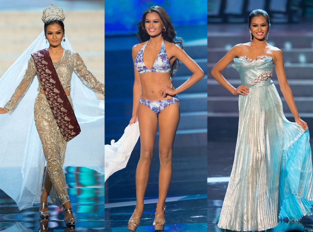 Miss Philippines, Costume, Swimsuit, Gown