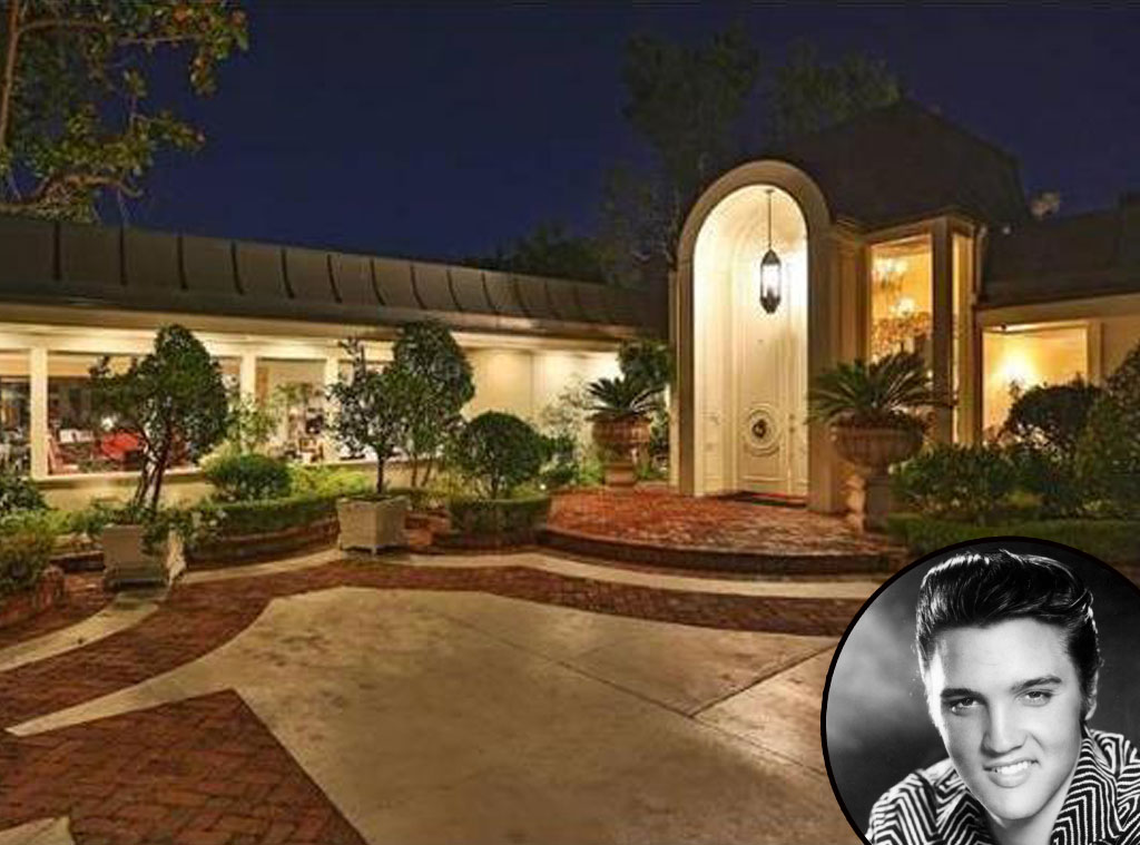 Elvis Presley, Beverly Hills Home