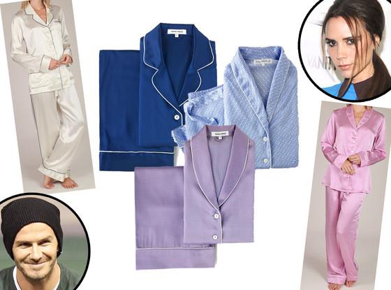 Olivia Von Halle Pajamas, Victoria & David Beckham