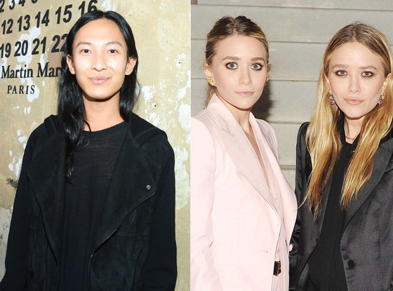 Ashley Olsen, Mary-Kate Olsen, Alexander Wang