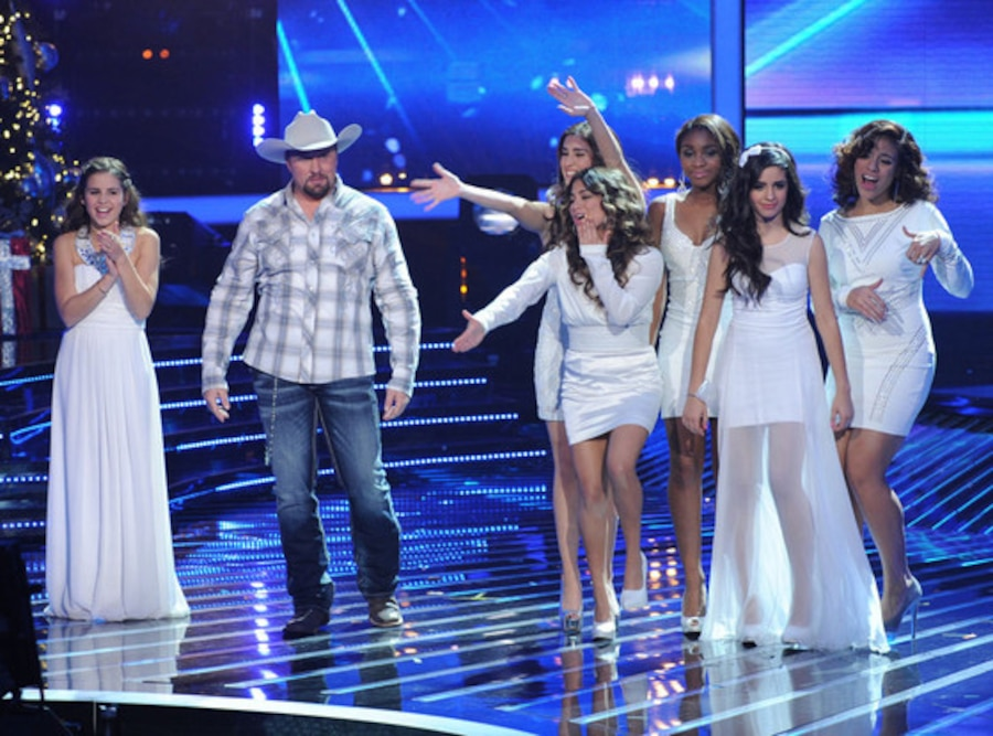 Carly Rpse Sonenclar, Tate Stevens and Fifth Harmony, THE X FACTOR