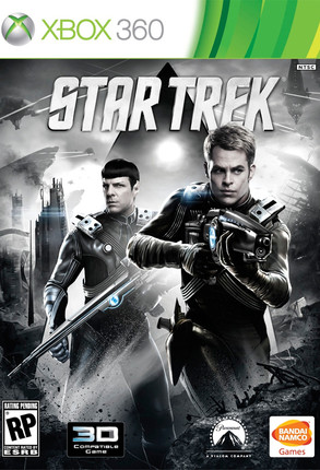 Chris Pine, Zachary Quinto, Star Trek Game