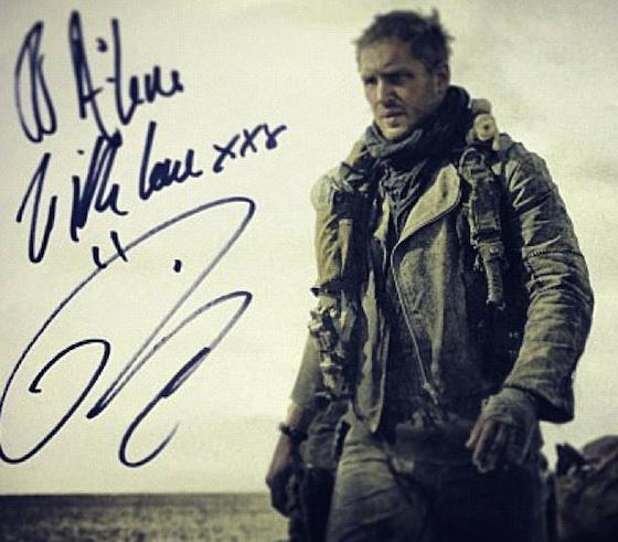 Tom Hardy, Mad Max, Twitter