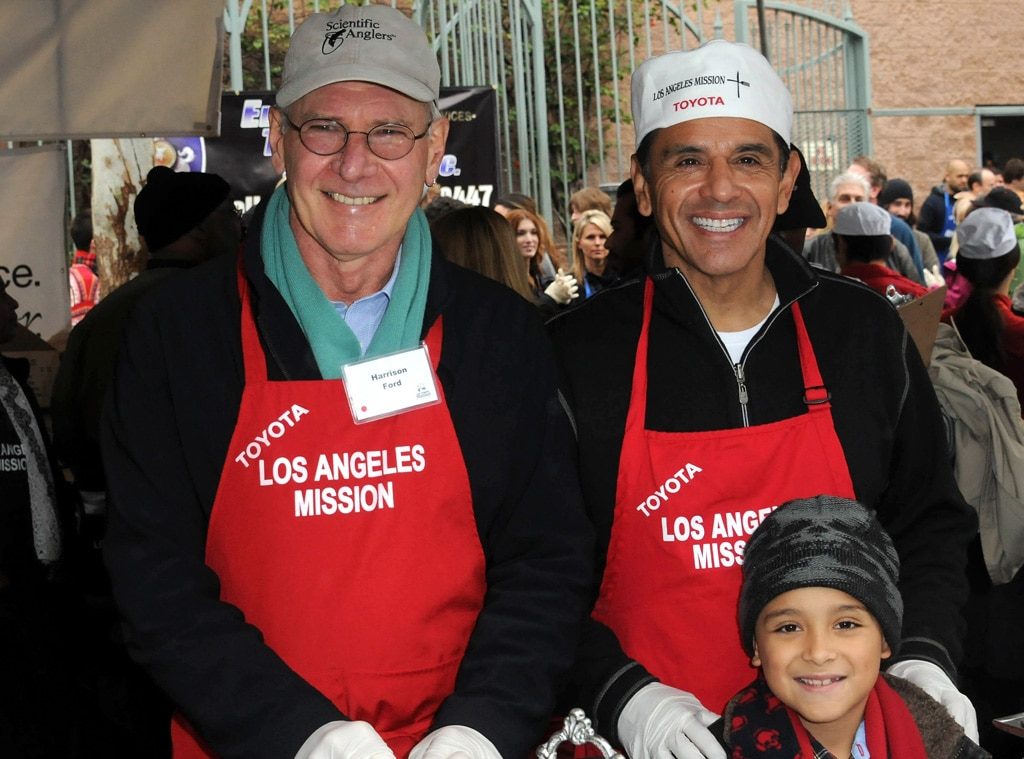 Harrison Ford, Mayor Antonio Villaraigosa