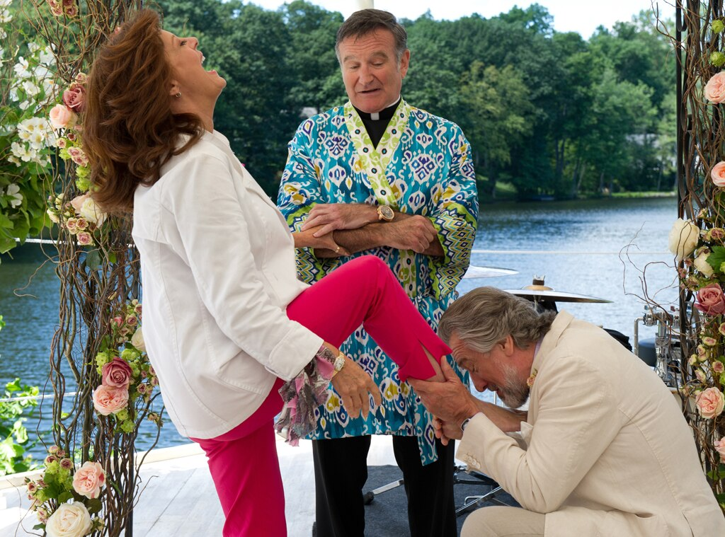 Susan Sarandon, Robin Williams, Robert De Niro, The Big Wedding