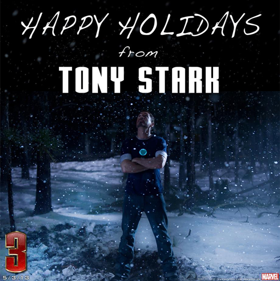 Iron Man 3, Happy Holidays