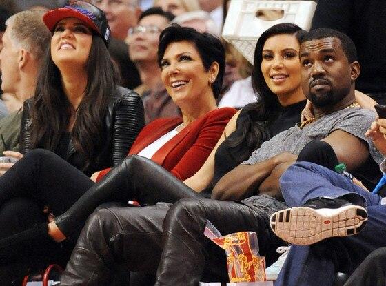 Kim Kardashian, Kanye West, Khloe Kardashian, Kris Jenner, Bruce Jenner