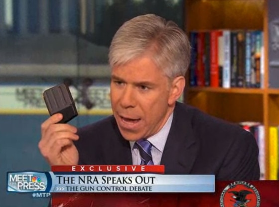 David Gregory, NRA