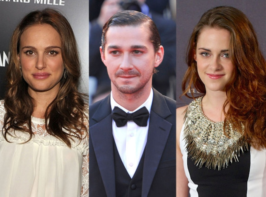 Natalie Portman, Shia Labeouf, Kristen Stewart