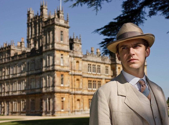 Dan Stevens, Downton Abbey