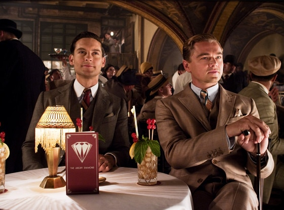 The Great Gatsby, Tobey Maguire, Leonardo DiCaprio