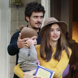 Orlando Bloom, Miranda Kerr, Flynn