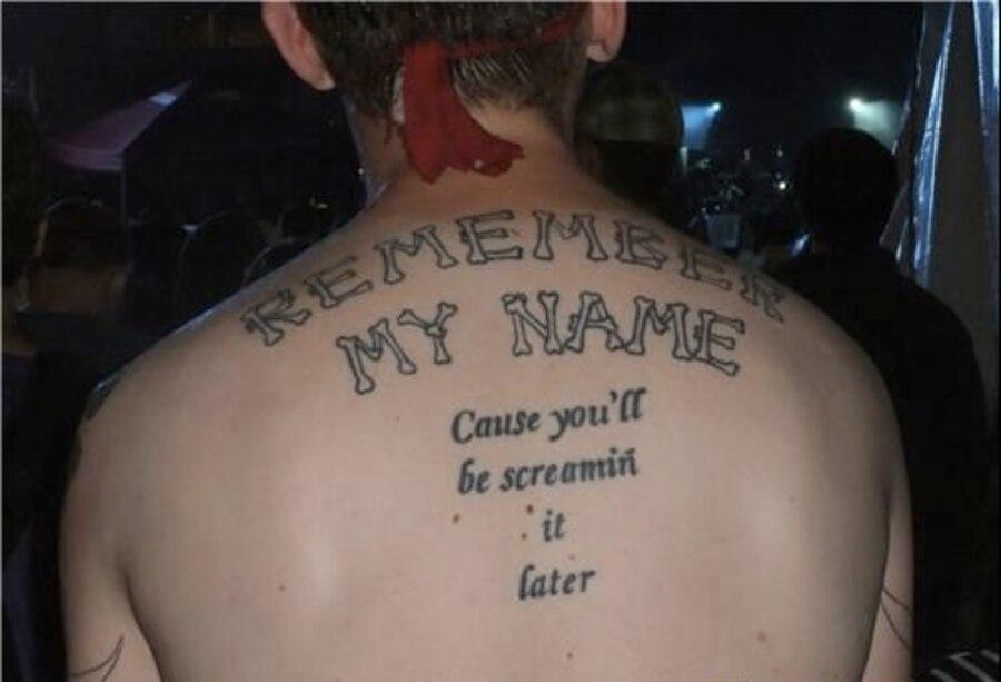 Back Tattoo Soup