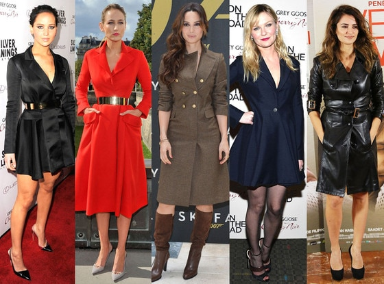Coats as Dresses Trend