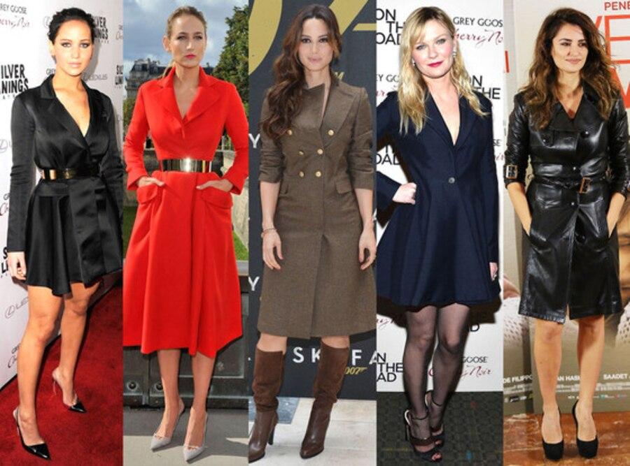 Coats as Dresses Trend