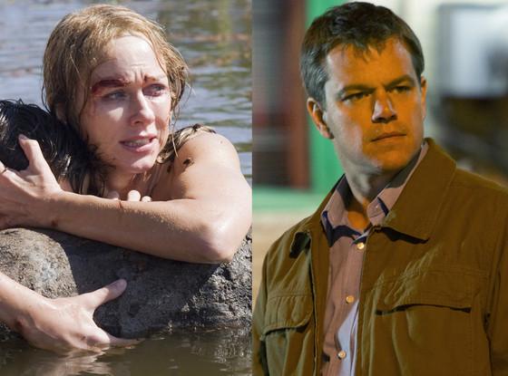 Matt Damon, Promised Land, Naomi Watts, The Impossible