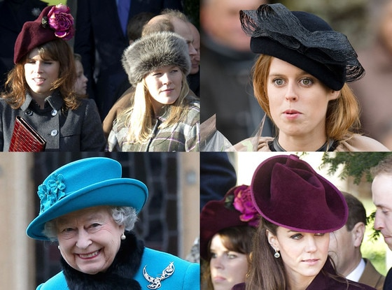 Royal Hat Off, Kate Middleton, Princess Beatrice, Princess Eugenie, Autumn Phillips, Queen Elizabeth
