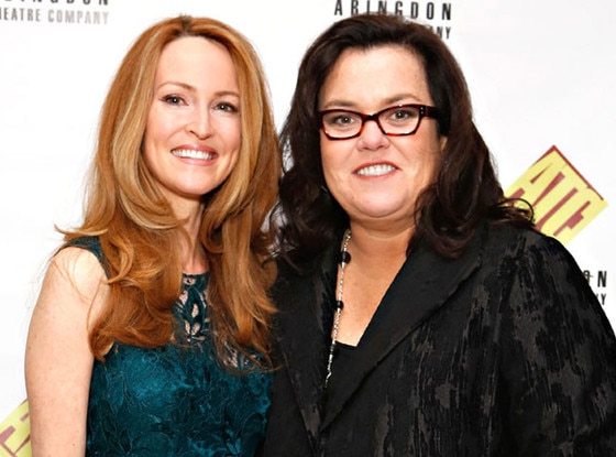 Divorced lesbian couple: Rosie O'Donnell and Michelle Rounds who were married in 2012